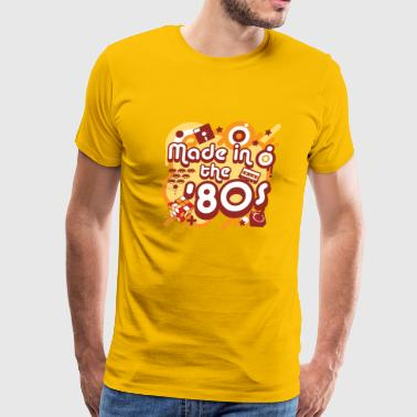Made 80s Made In The 80s - Men's Premium T-Shirt