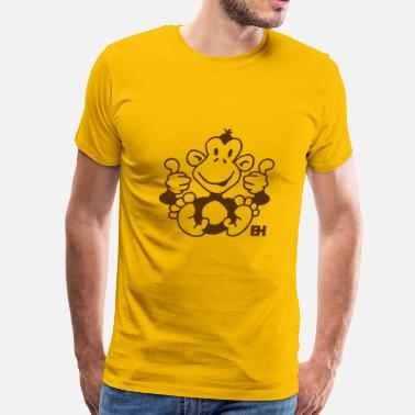 Drunken Monkey Monkey - Men's Premium T-Shirt