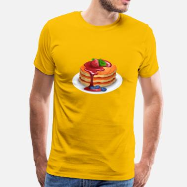 Pancake Breakfast pancakes - Men's Premium T-Shirt