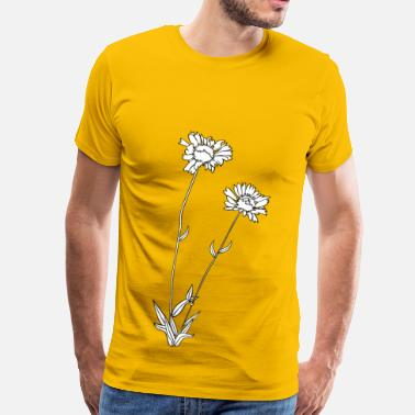 Barbarian wild flower - Men's Premium T-Shirt