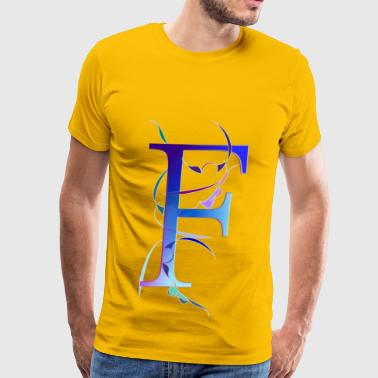 Pattern F / III - Men's Premium T-Shirt