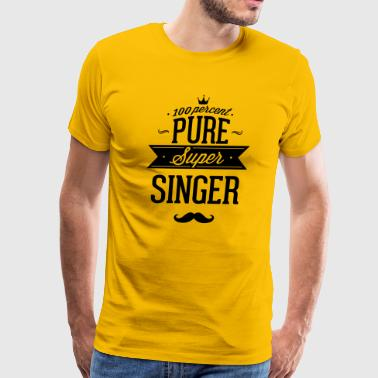 100 percent pure super singer - Men's Premium T-Shirt