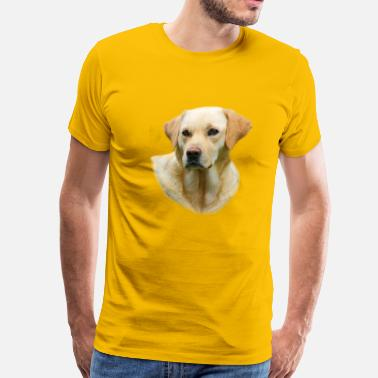 The Hangover 2 Movie Hangover 2 Yellow Lab Tee - Men's Premium T-Shirt