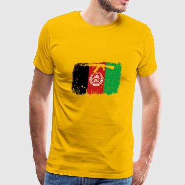 homeland fight ak 47 heimat roots Afghanistan png - Men's Premium T-Shirt