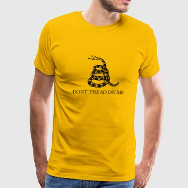 Don't Tread On Me (Gadsden Flag) - Men's Premium T-Shirt