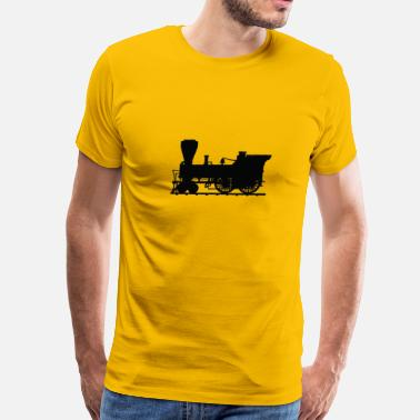 Steam Engine steam engine - Men's Premium T-Shirt