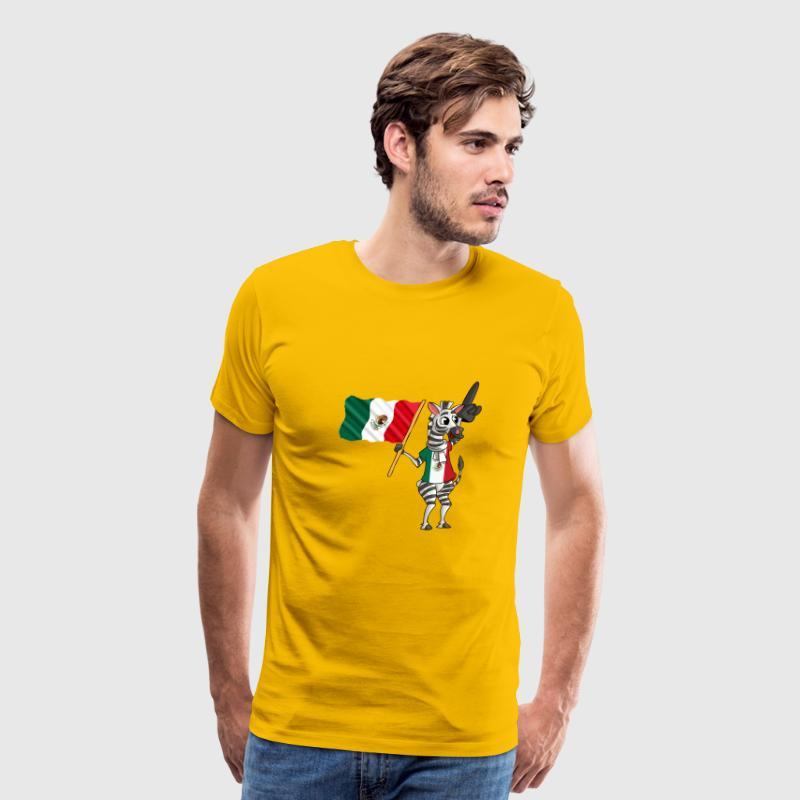 A Mexican Zebra - Men's Premium T-Shirt