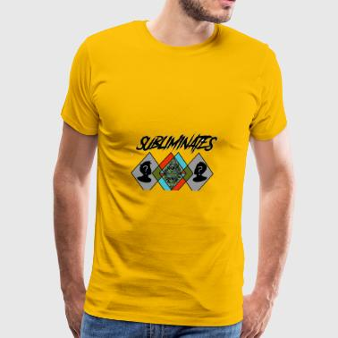 The Subliminates Podcast (Full Logo) - Men's Premium T-Shirt