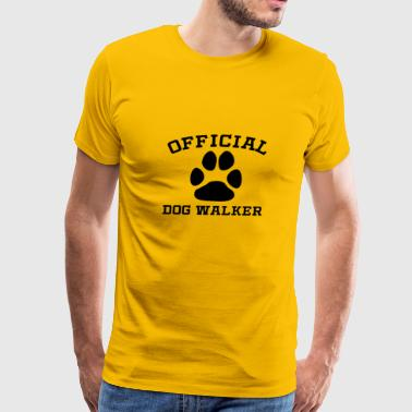 Official Dog Walker - Men's Premium T-Shirt