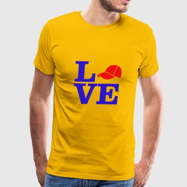 love trump - Men's Premium T-Shirt