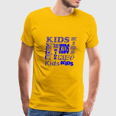 Kids Blue - Men's Premium T-Shirt