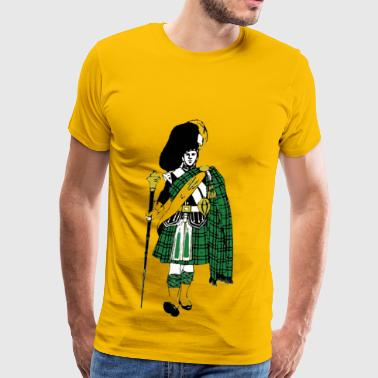 Highland Scottish Highlander - Men's Premium T-Shirt
