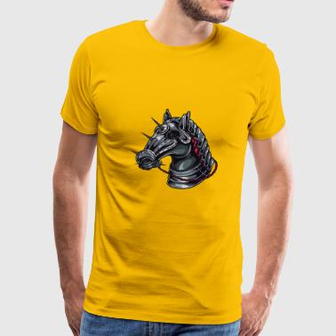 kNIGHT HORSE - Men's Premium T-Shirt