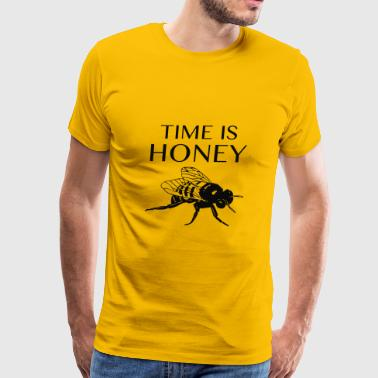 Time Is Honey - Men's Premium T-Shirt