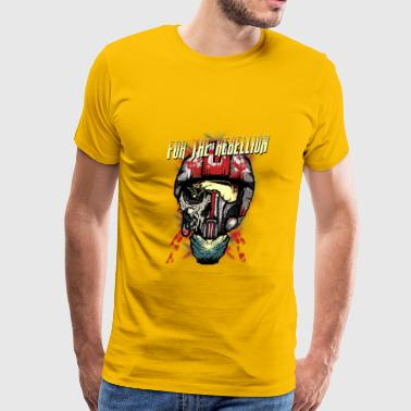 Modern Rebellion For the rebellion - Men's Premium T-Shirt