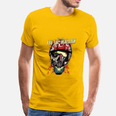 Rebel Rebellion For the rebellion - Men's Premium T-Shirt
