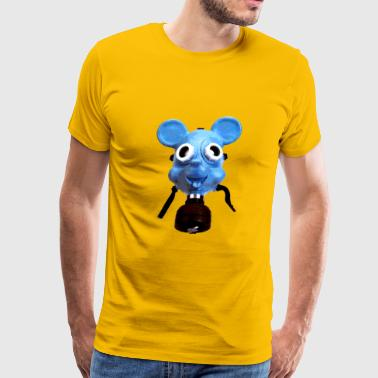 Mickey Gas Mask - Men's Premium T-Shirt