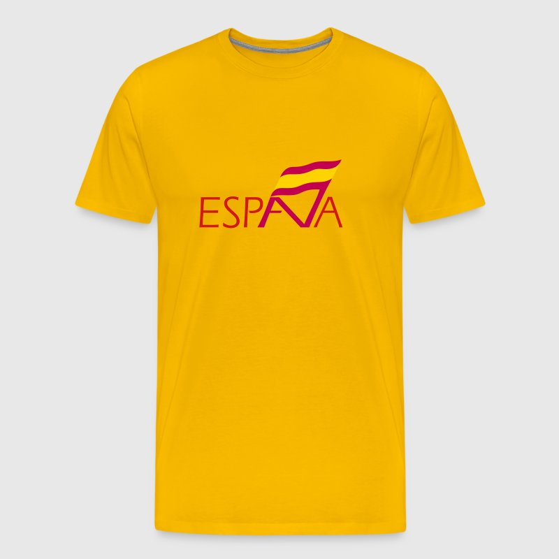 logo spain - Men's Premium T-Shirt