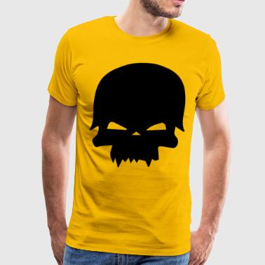 skull and helmet - Men's Premium T-Shirt