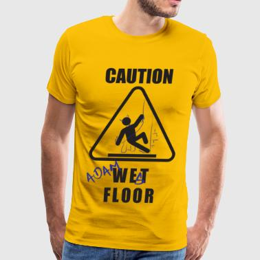 Iconic Duo Adam West Floor Sign - Men's Premium T-Shirt