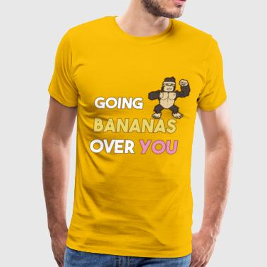 Going Bananas - Men's Premium T-Shirt