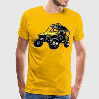 Atv Side By Side Suzuki Off-Road UTV Side By Side - Men's Premium T-Shirt