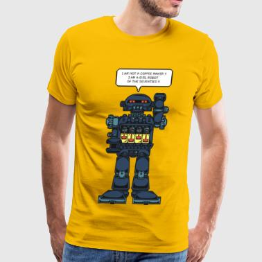 Evil Space Robot Toy - Men's Premium T-Shirt