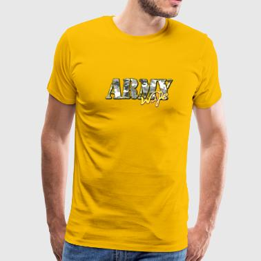 Proud Army Wife - Men's Premium T-Shirt