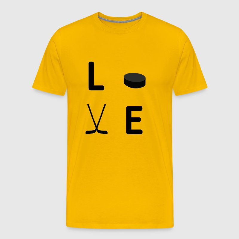 hockey love - Men's Premium T-Shirt