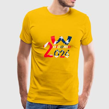 WELCOME WORLD CUP 2026 - Men's Premium T-Shirt