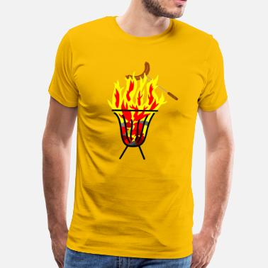 Set Fire fire - Men's Premium T-Shirt