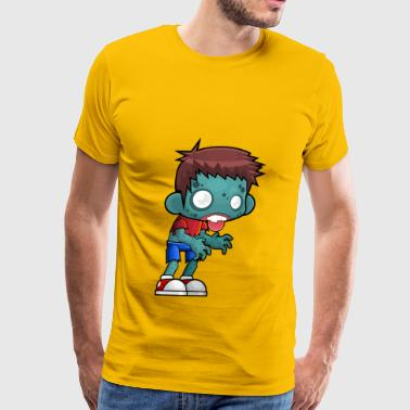 Zombie vs. plants - Men's Premium T-Shirt