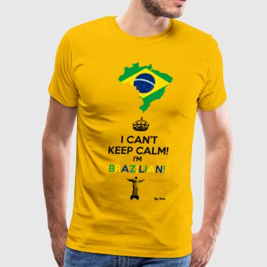 Brazilian - Men's Premium T-Shirt
