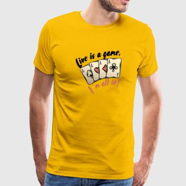 Poker - Men's Premium T-Shirt