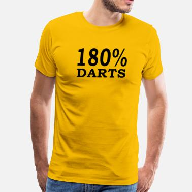 180 darts - Men's Premium T-Shirt