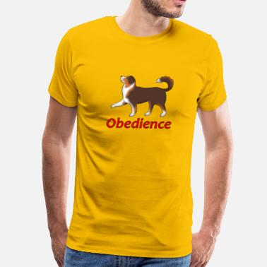 Obedience Obedience AS Fuß - Men's Premium T-Shirt