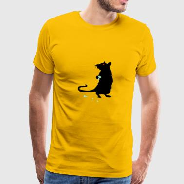 rat / mushrooms / pet - Men's Premium T-Shirt