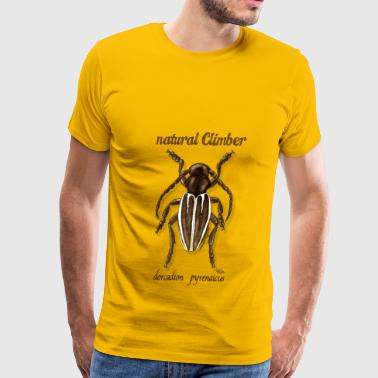 Natural Climber Dorcadion - Men's Premium T-Shirt