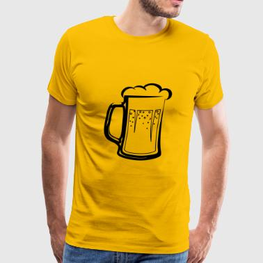 drinking beer booze handle - Men's Premium T-Shirt