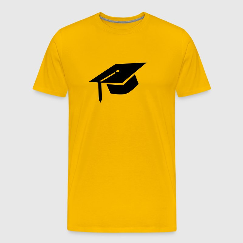 graduation cap - Men's Premium T-Shirt