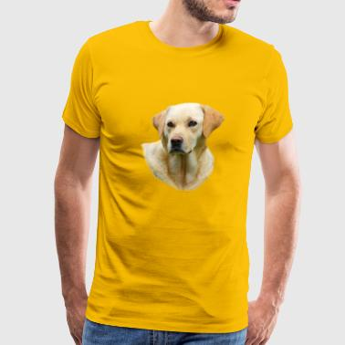 Yellow Lab Worn On Hangover 2 Movie - Men's Premium T-Shirt