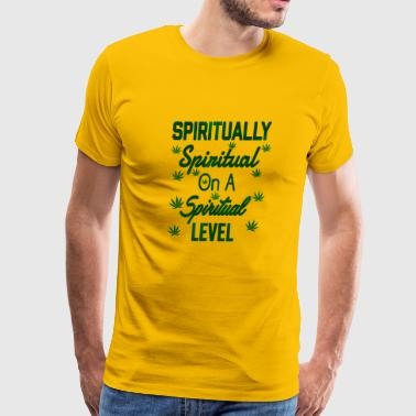Spiritually Spiritual on a Spiritual Level - Men's Premium T-Shirt