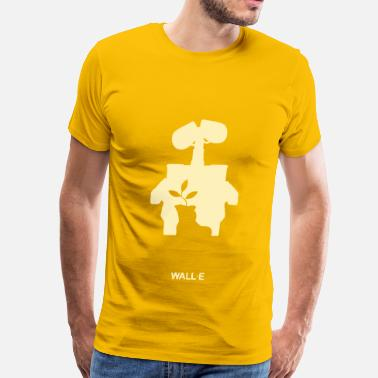 Walle wall e - Men's Premium T-Shirt