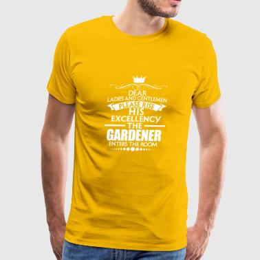 GARDENER - EXCELLENCY - Men's Premium T-Shirt