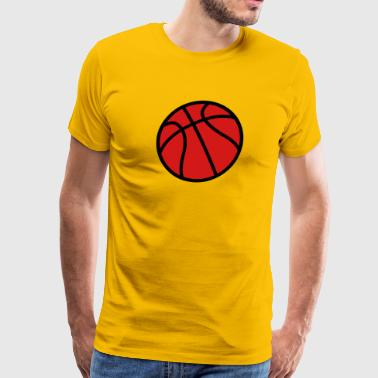 Jump Shot Basket basketball - Men's Premium T-Shirt
