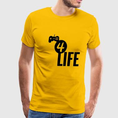 Gamer4life - Men's Premium T-Shirt