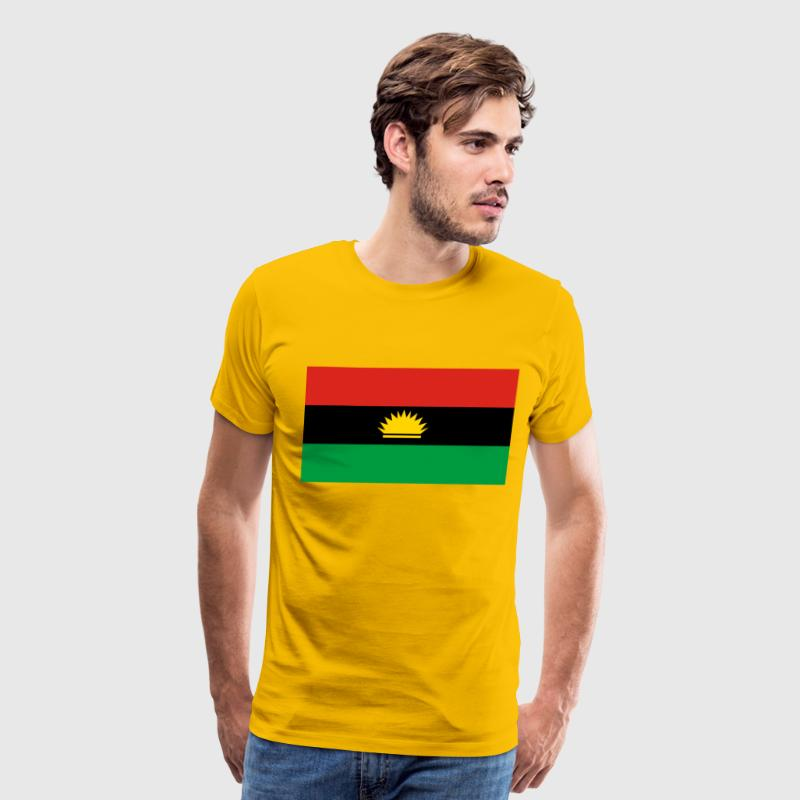 Biafra flag by spreadshirt biafra flag mens premium t shirt thecheapjerseys Images