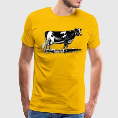 C 3 Cow design - Men's Premium T-Shirt