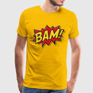 BAM comic - Men's Premium T-Shirt