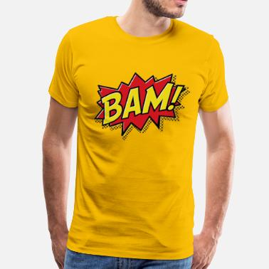 Comic Books BAM comic - Men's Premium T-Shirt